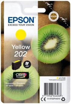 Originální cartridge EPSON č. 202 (T02F4) (Žlutá)