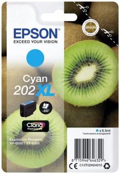 Originální cartridge EPSON č. 202 XL (T02H2) (Azurová)