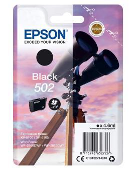 Originální cartridge Epson 502 BK (T02V1) (Černá)