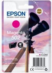 Cartridge do tiskárny Originální cartridge Epson 502 M (T02V3) (Purpurová)