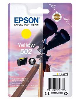 Originální cartridge Epson 502 Y (T02V4) (Žlutá)