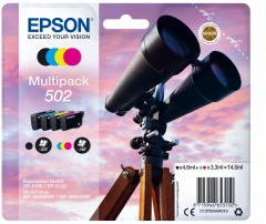 Sada originálních cartridge EPSON 502 (T02V6)