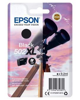 Originální cartridge Epson 502 XL BK(T02W1) (Černá)