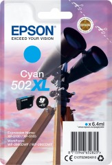 Cartridge do tiskárny Originální cartridge Epson 502 XL C (T02W2) (Azurová)