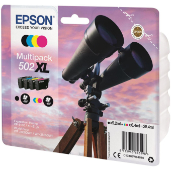 Sada originálních cartridge EPSON 502 XL (T02W6)