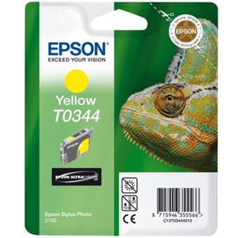 Originální cartridge EPSON T0344 (Žlutá)