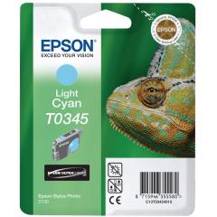 Cartridge do tiskárny Originální cartridge EPSON T0345 (Světle azurová)