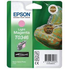 Cartridge do tiskárny Originální cartridge EPSON T0346 (Světle purpurová)