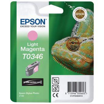 Originální cartridge EPSON T0346 (Světle purpurová)