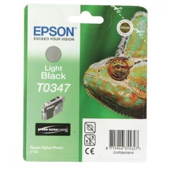 Originální cartridge EPSON T0347 (Světle černá)