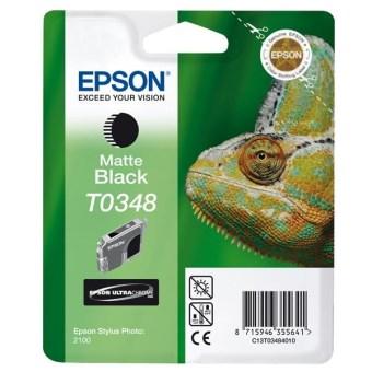 Originální cartridge EPSON T0348 (Matná černá)