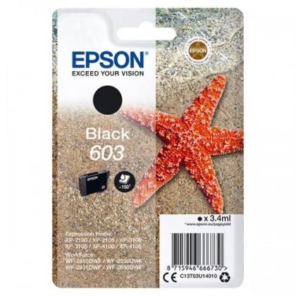 Originální cartridge EPSON č. 603 (T03U1) (Černá)