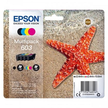 Sada originálních cartridge EPSON č. 603 (T03U6)