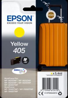 Originální cartridge EPSON č. 405 (T05G4) (Žlutá)