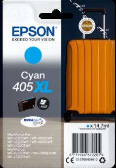 Originální cartridge EPSON č. 405 XL (T05H2) (Azurová)