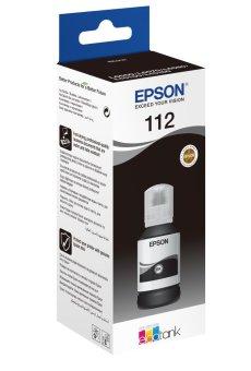Originální lahev Epson 112 BK (C13T06C14A) (Černá)