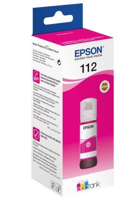 Originální lahev Epson 112 M (C13T06C34A) (Purpurová)