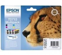 Sada originálních cartridge EPSON T0715 - obsahuje T0711-T0714