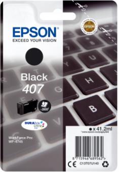 Originální cartridge EPSON č. 407 (T07U1) (Černá)