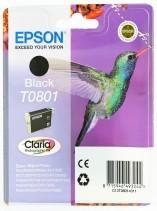 Originální cartridge EPSON T0801 (Černá)