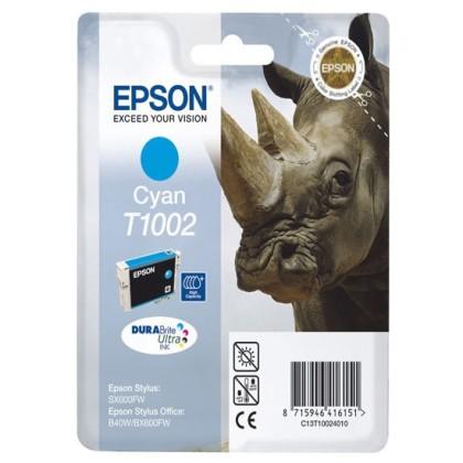Originální cartridge EPSON T1002 (Azurová)