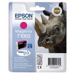 Cartridge do tiskárny Originální cartridge EPSON T1003 (Purpurová)