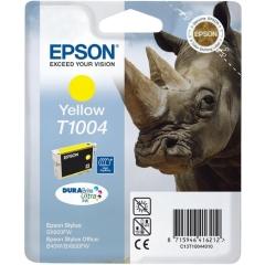 Cartridge do tiskárny Originální cartridge EPSON T1004 (Žlutá)