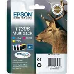 Sada originálních cartridge EPSON T1306 - obsahuje T1302-T1304