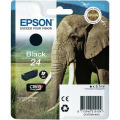 Cartridge do tiskárny Originální cartridge EPSON T2421 (Černá)