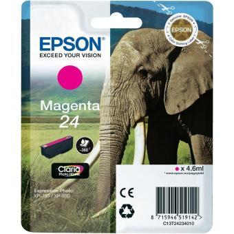 Originální cartridge EPSON T2423 (Purpurová)