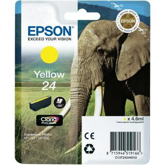 Originální cartridge EPSON T2424 (Žlutá)