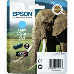 Cartridge do tiskárny Originální cartridge EPSON T2425 (Světle azurová)