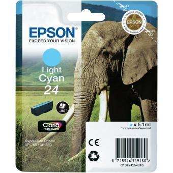 Originální cartridge EPSON T2425 (Světle azurová)