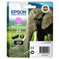 Cartridge do tiskárny Originální cartridge EPSON T2426 (Světle purpurová)
