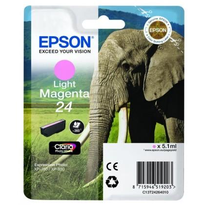 Originální cartridge EPSON T2426 (Světle purpurová)
