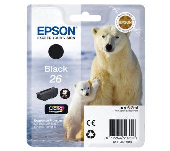 Originální cartridge EPSON T2601 (Černá)