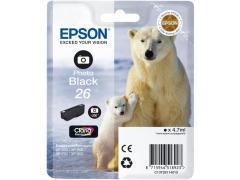 Cartridge do tiskárny Originální cartridge EPSON T2611 (Foto černá)