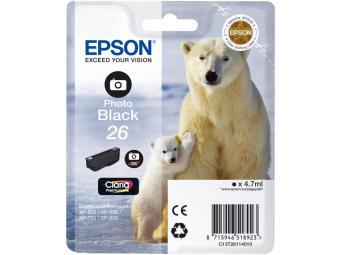 Originální cartridge EPSON T2611 (Foto černá)