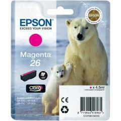 Cartridge do tiskárny Originální cartridge EPSON T2613 (Purpurová)