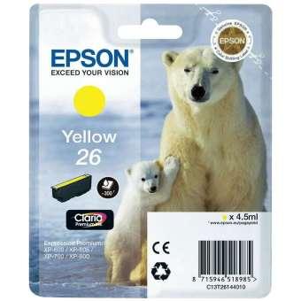 Originální cartridge EPSON T2614 (Žlutá)