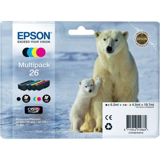 Sada originálních cartridge EPSON T2616