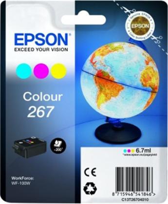 Originální cartridge EPSON T2670 (Barevná)
