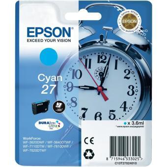 Originální cartridge EPSON T2702 (Azurová)