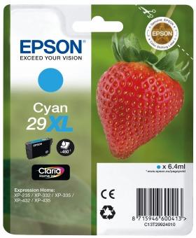 Originální cartridge EPSON T2992 (Azurová)