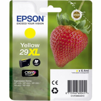 Originální cartridge EPSON T2994 (Žlutá)