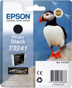 Originální cartridge EPSON T3241 (Foto černá)