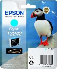 Cartridge do tiskárny Originální cartridge EPSON T3242 (Azurová)