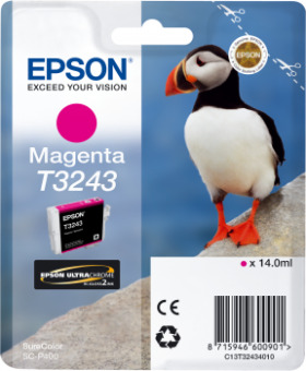 Originální cartridge EPSON T3243 (Purpurová)