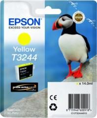 Cartridge do tiskárny Originální cartridge EPSON T3244 (Žlutá)