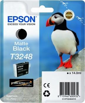 Originální cartridge Epson T3248 (Matně černá)